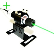 Rapid Cooling Down for High Power Green Cross Laser Alignment