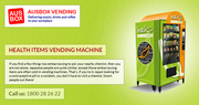 Reliable Healthy Vending Machine Supplier